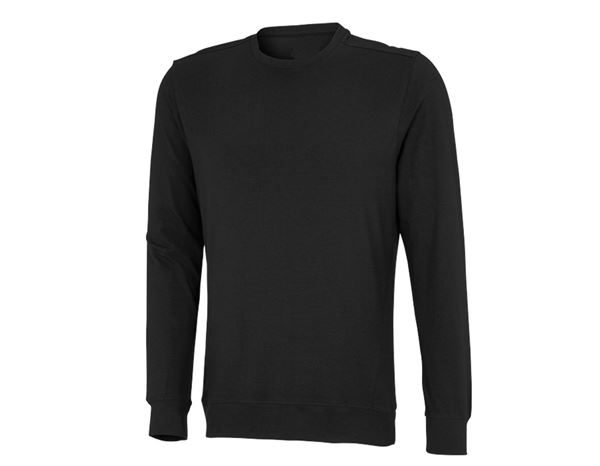 Shirts & Co.: Longsleeve Atlanta + schwarz