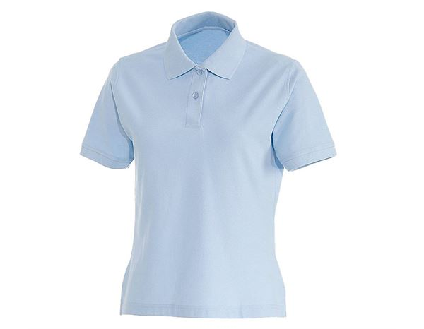 Shirts & Co.: Damen Polo-Shirt Lotta + hellblau