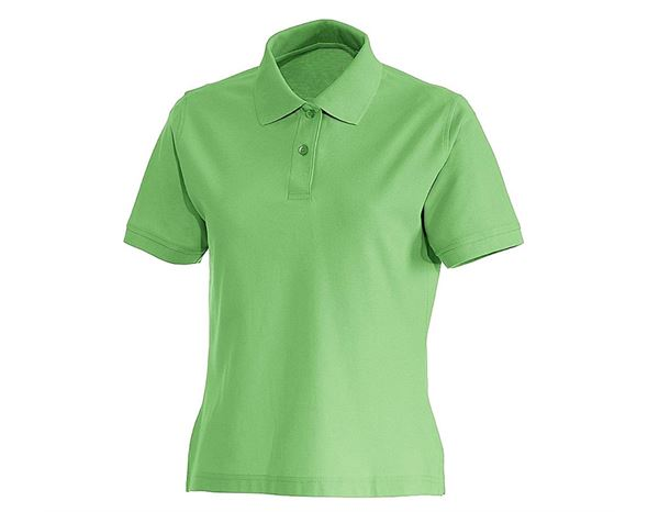 Shirts / Sweats / Blusen: Damen Polo-Shirt Lotta + apfelgrün