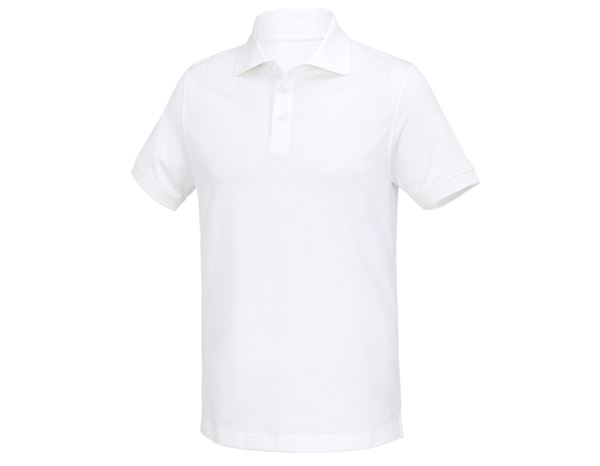 Shirts & Co.: Polo-Shirt Houston + weiß