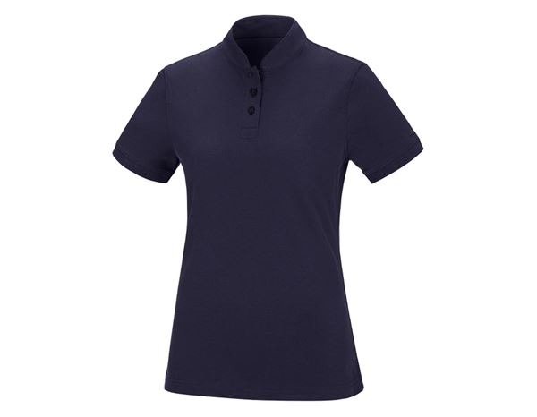 Shirts / Sweats / Blusen: Damen Polo-Shirt Michelle + dunkelblau