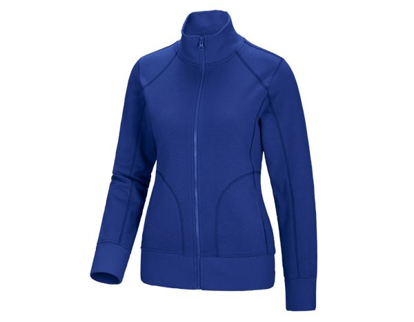 Shirts & Co.: Sweatjacke Laura + kornblau