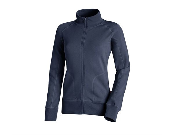 Shirts & Co.: Sweatjacke Laura + dunkelblau