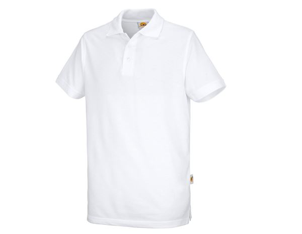 Shirts / Sweats / Blusen: Polo-Shirt Basic + weiß