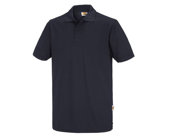 Shirts / Sweats / Blusen: Polo-Shirt Basic + dunkelblau