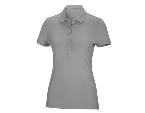 Shirts & Co.: Damen Polo-Shirt Clarissa + platin