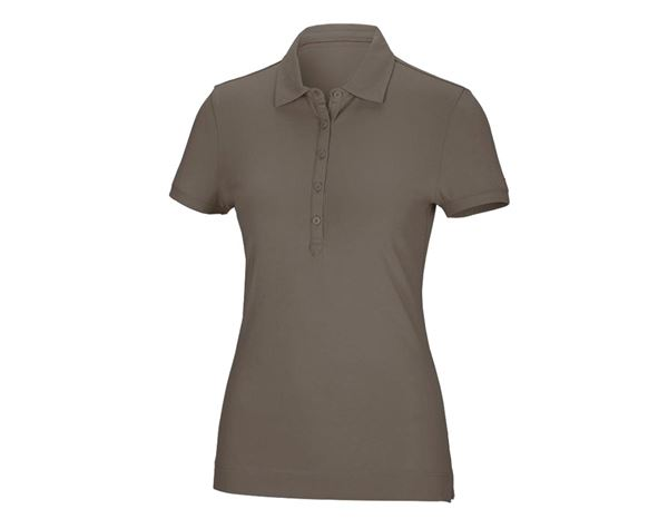 Shirts / Sweats / Blusen: Damen Polo-Shirt Clarissa + stein
