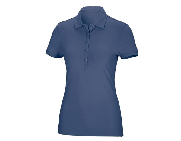 Shirts / Sweats / Blusen: Damen Polo-Shirt Clarissa + kobalt