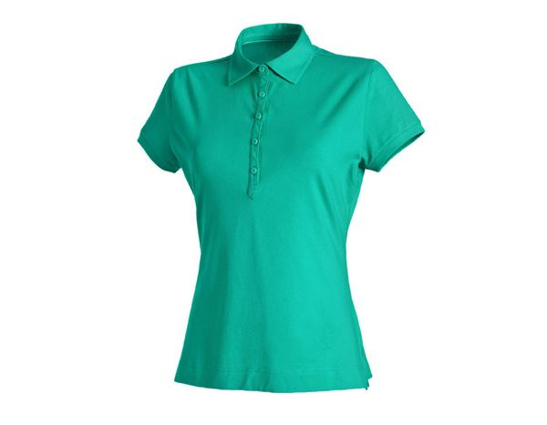 Shirts & Co.: Damen Polo-Shirt Clarissa + lagune