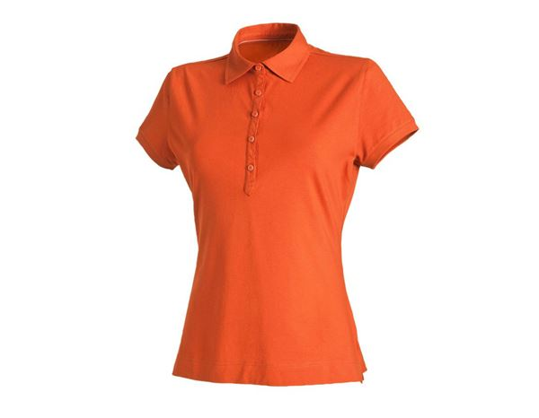 Shirts & Co.: Damen Polo-Shirt Clarissa + nektarine