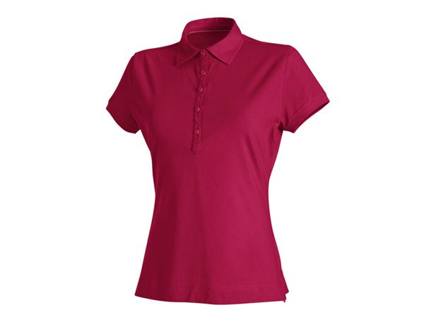 Shirts / Sweats / Blusen: Damen Polo-Shirt Clarissa + beere