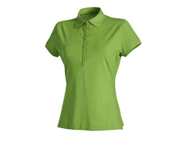 Shirts / Sweats / Blusen: Damen Polo-Shirt Clarissa + seegrün