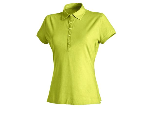 Shirts / Sweats / Blusen: Damen Polo-Shirt Clarissa + maigrün