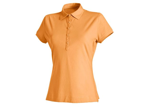 Shirts & Co.: Damen Polo-Shirt Clarissa + hellorange