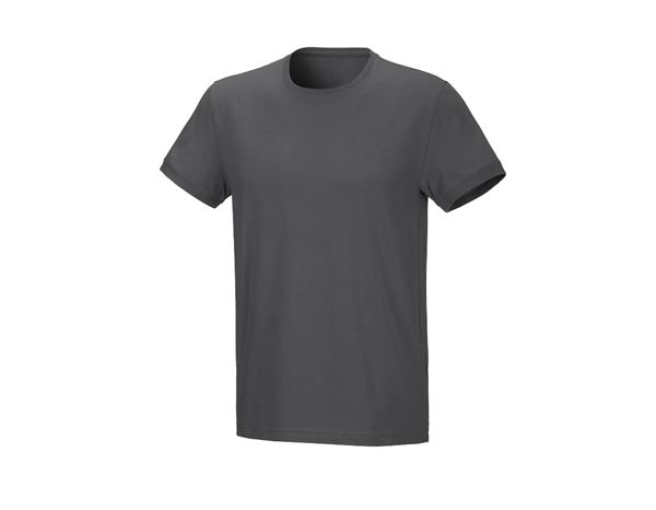 Shirts / Sweats / Hemden: Herren T-Shirt Julius + anthrazit