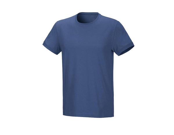 Shirts & Co.: Herren T-Shirt Julius + kobalt